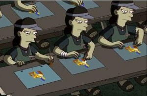banksy-sweatshop-simpsons