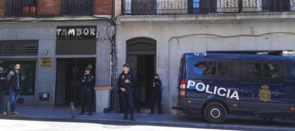 Van a por nosotros/as. Están barriendo Madrid