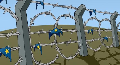 El mar, un cementerio.  La tierra, una cárcel.  El horror detrás de las políticas europeas anti-inmigración