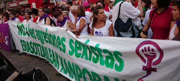 Violencia de género y San Fermín