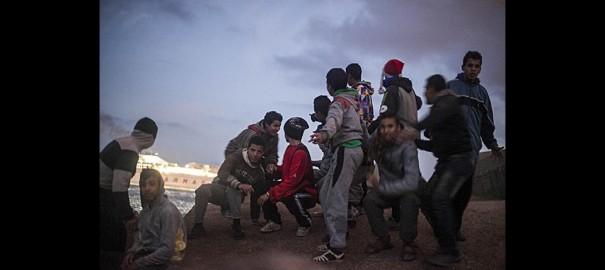 Fronteras sin edad. Menores migrantes en Melilla
