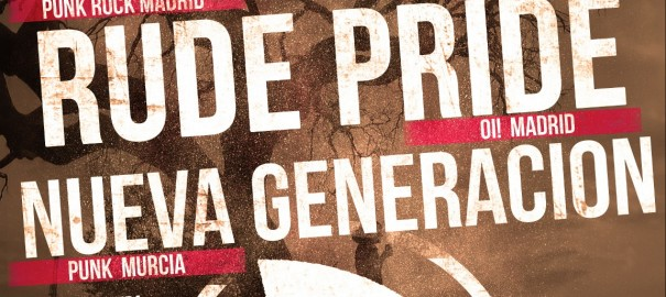 25-S: Concierto benéfico para el Todo por Hacer de Accidente + Rude Pride + Nueva Generación