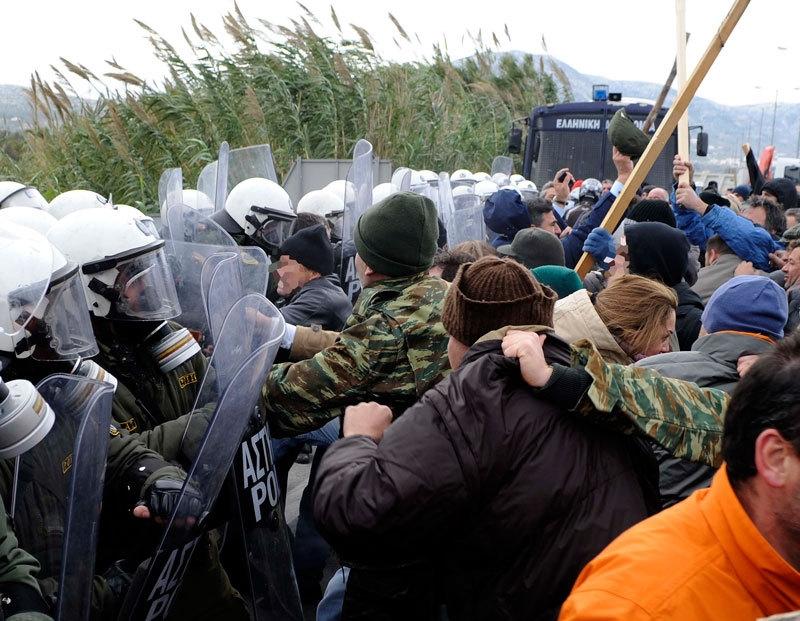 Resistencia contra el proyecto de vertedero en Keratea (Grecia)