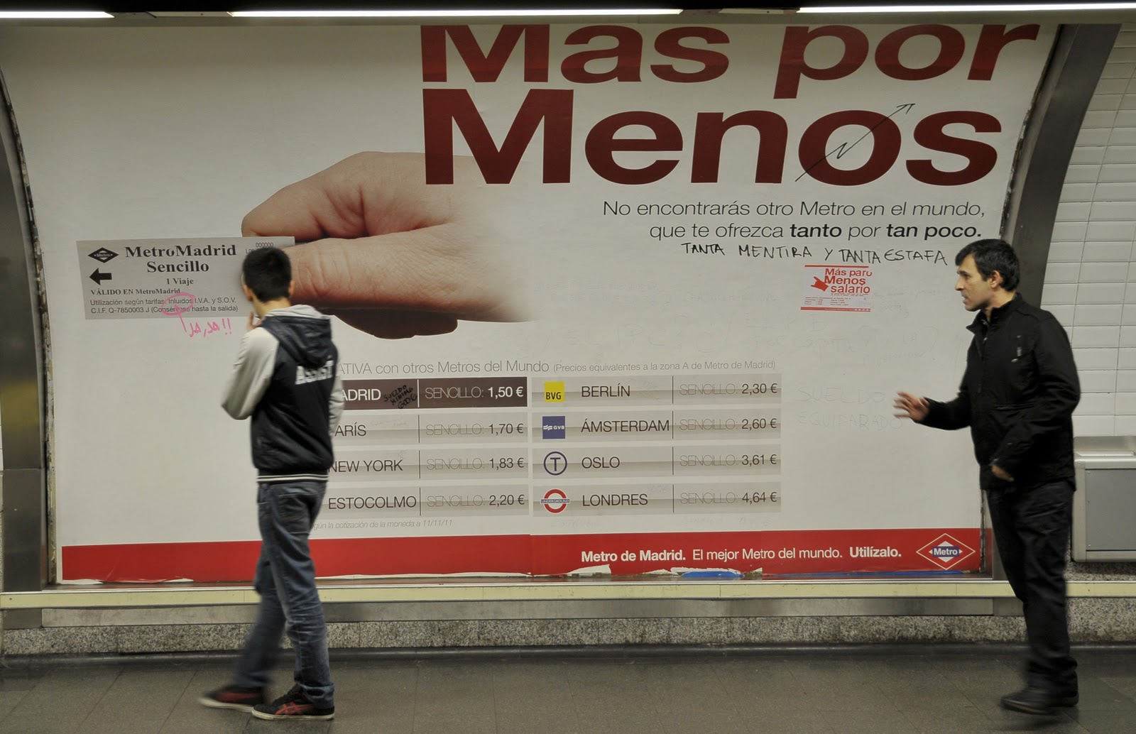 METRO MADRID 001 - Todo Por Hacer