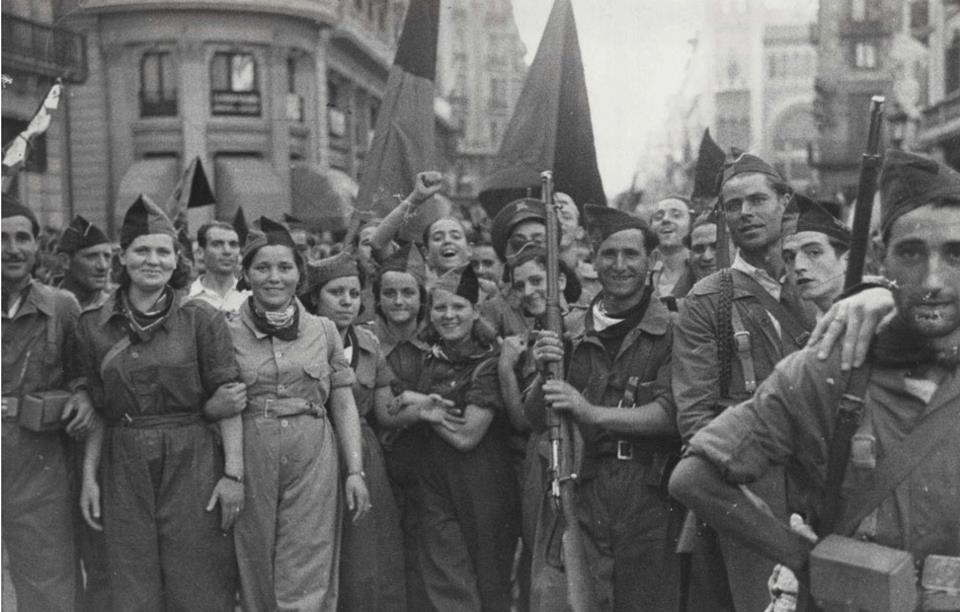 Resultado de imagen de revolució barcelona 1936