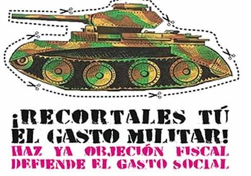 Image result for Objeción Fiscal al gasto militar