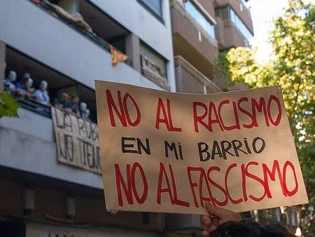 No al Racismo, En mi barrio, No al Fascismo