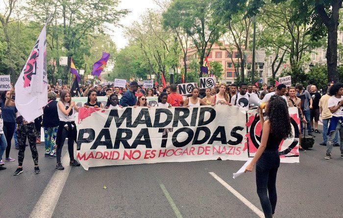 Madrid para todas, Madrid no es hogar de nazis