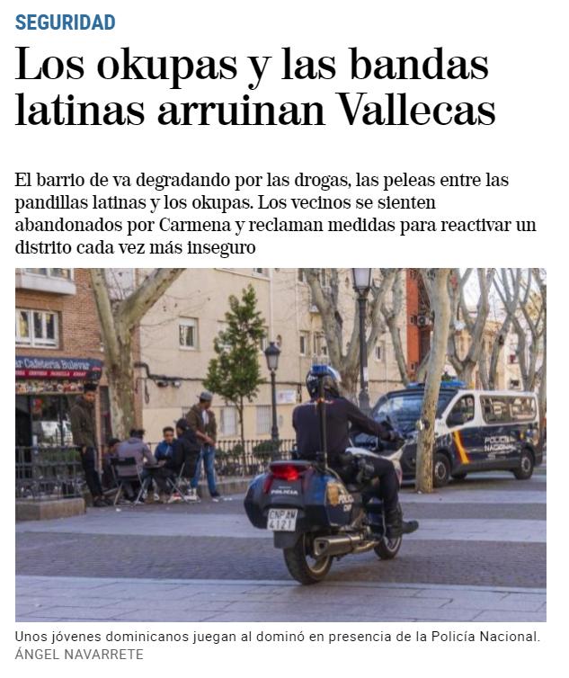 Intercambiar fluido Alicia  Prensa y redadas, una historia de racismo en Vallecas - Todo Por Hacer