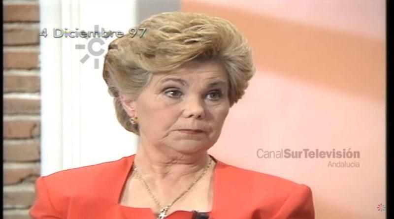 Fotograma de Canal Sur en el que aparece Ana Orantes