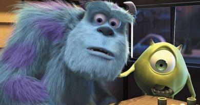 Fotograma de la película Monstruos S.A. en la que aparecen sus dos protagonistas